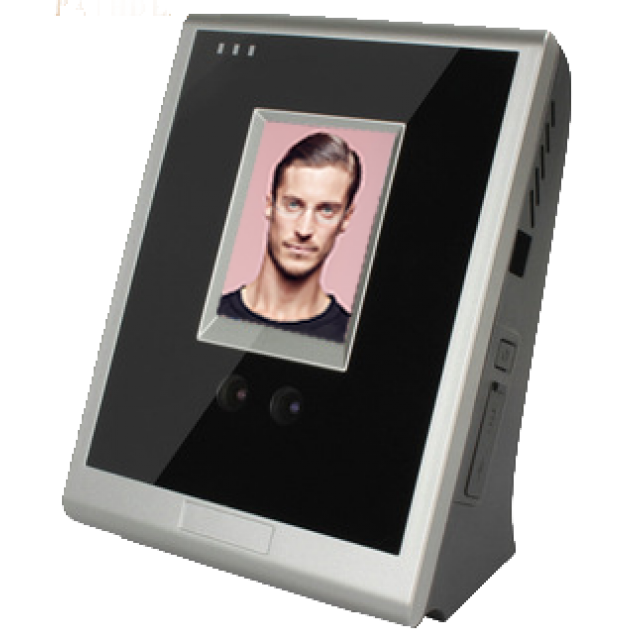 tft touch screen facial recognition time attendance system