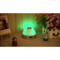 MAGIC 7 COLOR CHANGE LED PROJECTOR ALARM CLOCK