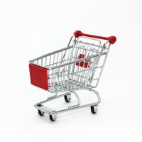 supermarket shopping cart sample
