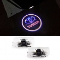 Car Door Courtesy Laser Projector LED Logo toyota