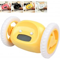 Alarm Clock Runaway Clocky Moving Wheels Clock