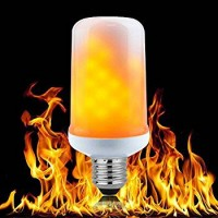 LED Burning Light Flicker Flame Light Bulb Fire Effect Bulb LED Flame