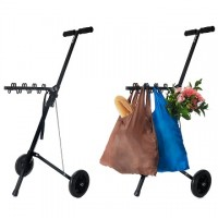 Portable Folding Supermarket Shopping Cart