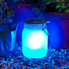 Colorful Solar Power Sun Jar