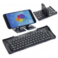 keyboard with foldable , PLASTIC ABS
