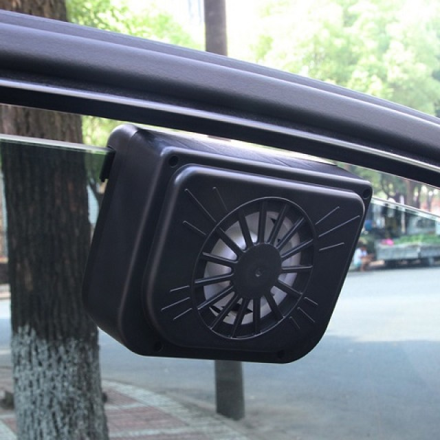 car ventilation solar fan