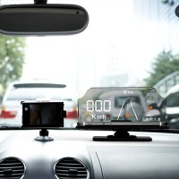 Head Up Display,Car GPS HUD with Overspeed Warning, Vehicle Speed, Engine Speed for Smartphone Navigation