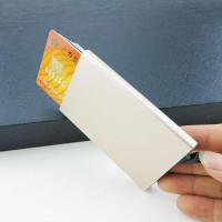 Wallet | Automatic Slide Card Holder