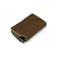 Double leather Wallet | Automatic Slide Card Holder
