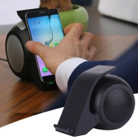 Fast Wireless Charger with Bluetooth Speaker