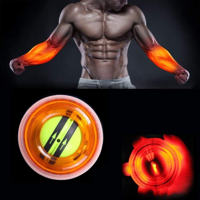 Power Ball for Wrist & Forearms Exerciser with LED lights