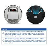 robotic vacuum cleaner from evertop