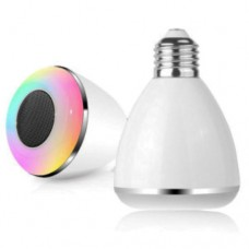 smart bulb 7 colors with bluetooth and speaker phone