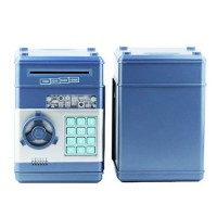 mini electronic coins and bills vault with voice command