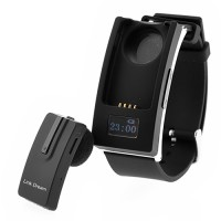 smartwatch separate design bluetooth v3.0 headset smart